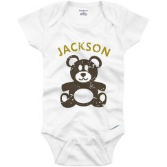 Distressed Teddy Onesie
