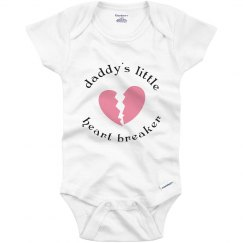Daddy's Heartbreak Onesie