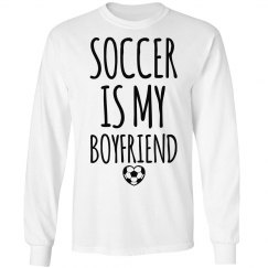 Soccer Is My Boyfriend Girl