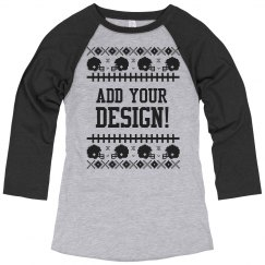 Design Your Ugly Football Tee