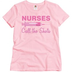 Nurses Call Shots