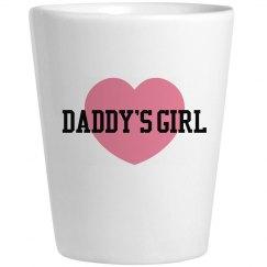 Daddy's Girl Shot Glass