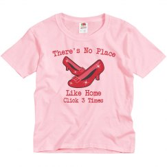 There's No Place Like Home Youth T-shirt