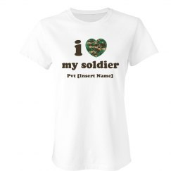 I Love My Soldier A Lot