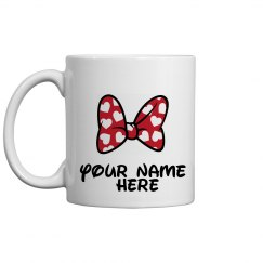 customize name minnie mug