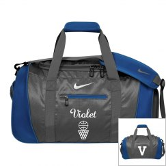 Violet basketball bag