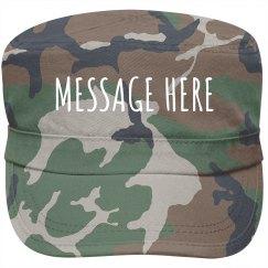 A Custom Military Cap