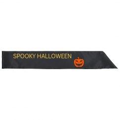 Spooky Halloween Sash