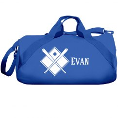 Evan's Baseball Bag