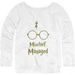 HP Sweatshirt- Mischief Managed