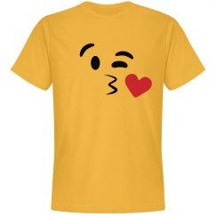 Emoji Kissy Face 2 Costume