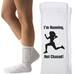 Running not chased!