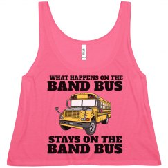 What Happens on the Band Bus Funny Color Guard Crop