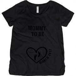 Mommy to Be Maternity Shirt