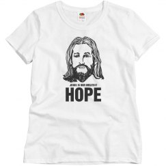 Jesus is our greatest hope