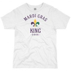 Custom Date Mardi Gras King