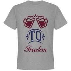 T-shirt men cheers