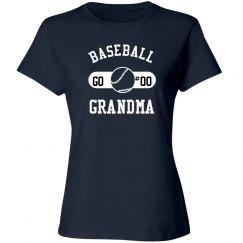 Custom Baseball Grandma Fan