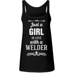 In love with a welder