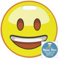 Traveling Emoji Bag Tag