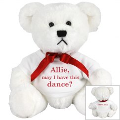 Cute Prom Dance Bear