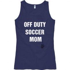 Off duty soccer mom