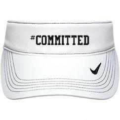 #committed visor