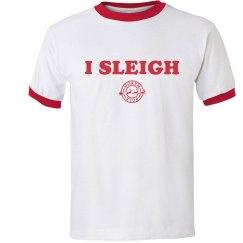 I Sleigh Relaxed Christmas Ringer