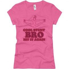 Pink Cool Stunt Bro
