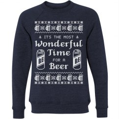 Beer Drinker Ugly Sweater