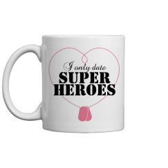 Date Super Heroes Mug