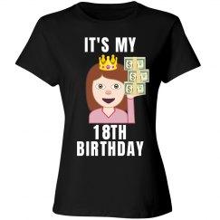 18th Birthday Emoji Princess