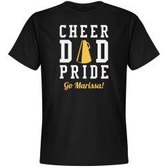 Proud Cheer Dad Sports Tee