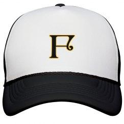 Monogrammed letter F
