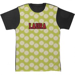 Olive All Over Print Tshirt