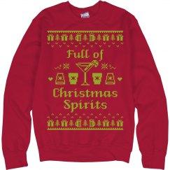 Xmas Spirit Ugly Sweater