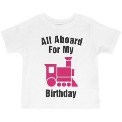 All aboard for my birthday