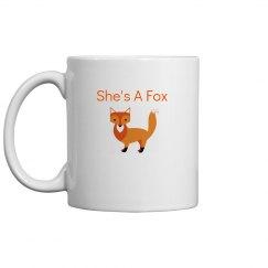 Shes a fox
