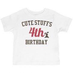 Cute stuffs 4th birthday