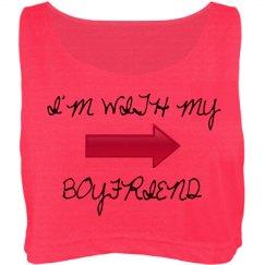 I'm with my boyfriend