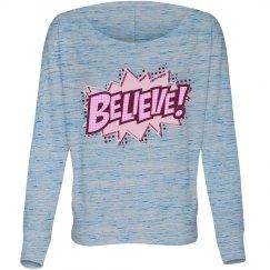 Pow Believe In A Cure
