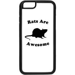 Rats are Awesome Iphone 6 case