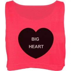 Big Heart Oversized Top