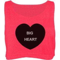 Big Heart Oversized Top