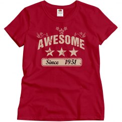 Awesome since 1951