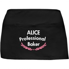 Alice professional baker