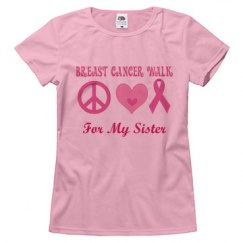 Breast Cancer Walk logo