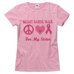 Breast Cancer Walk logo