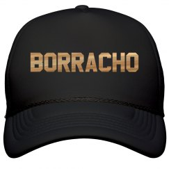 Metallic Borracho Cinco De Mayo Hat