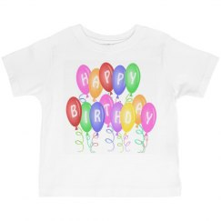 Happy Birthday  Kids Tee